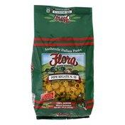 Flora Pasta, Authentic Italian, Pipe Rigate N. 55, 100% Durum Wheat Semolina