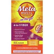 Metamucil On-The-Go, Psyllium Husk Fiber Supplement