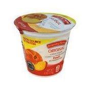Friendly Farms Peach Low Fat Yogurt