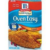McCormick® Oven Easy Cajun Seafood Coating Mix
