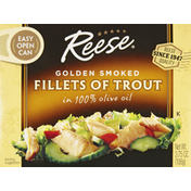 Reese's Fillets of Trout, Golden Smoked