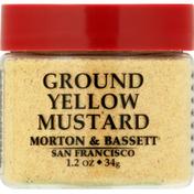 Morton & Bassett Spices Mustard, Yellow, Ground