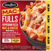 Stouffer's MAC-FULLS Pepperoni Pizza Mac and Cheese Frozen Meal