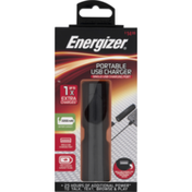 Energizer USB Charger, Portable, Pre-Priced $14.99,  Box