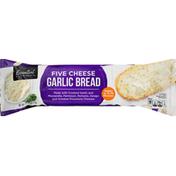 Essential Everyday Garlic Bread, Five Cheese