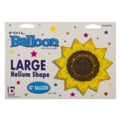Betallic Large Helium Shape Balloon Sunflower