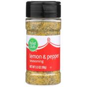 Food Club Lemon & Pepper Seasoning