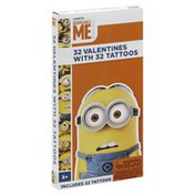 Despicable Me Valentines, with 32 Tattoos