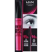 NYX Professional Makeup Mascara, On The Rise, Black OTRL01