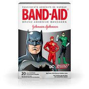 Band-Aid Brand Adhesive Bandages, Dc Comics Justice League, Assorted Sizes