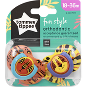 Tommee Tippee Pacifier, Fun Style, 18-36 Months