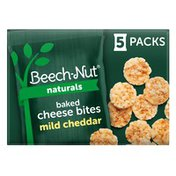 Beech-Nut Naturals Mild Cheddar Baked Cheese Bites