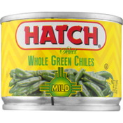 Hatch Select Whole Green Chiles Mild