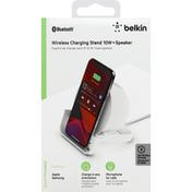 Belkin Charging Stand, Wireless, +Speaker, 10 Watts