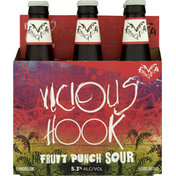 Flying Dog Beer, Fruit Sour Punch, Vicious Hook