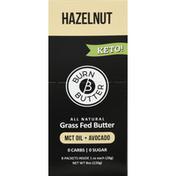 burn butter Butter, Grass Fed, Hazelnut