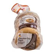Ahold Chocolate Chip Bagels - 6 CT