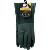 Wells Lamont Gloves, PVC Coated, Work & Home, Large