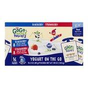 GoGo Squeez YogurtZ, Strawberry/Blueberry
