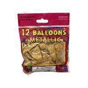 """Winntex 12"""" Round Metallic Balloons"""