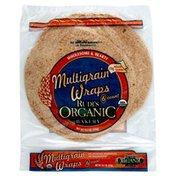 Rudis Wraps, Organic, Multigrain