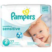 Pampers Premium Pampers Swaddlers Sensitive Diapers Size 2 27 count  Diapers