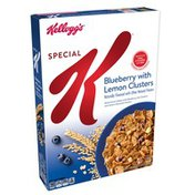 Kellogg's Special K Breakfast Cereal Blueberry with Lemon Clusters