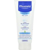 Mustela Cleansing Gel, 2 in 1, Hair and Body, Normal Skin