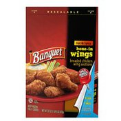 Banquet Wings Hot And Spicy