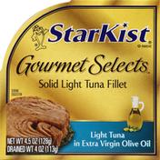 StarKist Tuna, Solid Light Fillet, in Extra Virgin Olive Oil