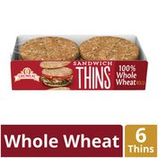 Oroweat 100% Whole Wheat Sandwich Thins