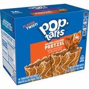 Kellogg's Pop-Tarts Pretzel Toaster Pastries, Breakfast Foods, Salted Caramel Drizzle