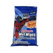 Lucky Super Hero Antibacterial Wet Wipes