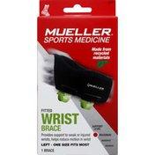 Mueller Wrist Brace, Fitted, Left