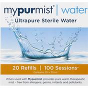MyPurMist Ultrapure Sterile Water