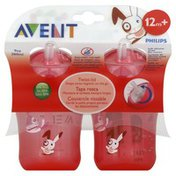 Avent Straw Cups, My Twist n Sip Cup, Stage 3 (12 Months+), 9 Ounce