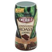 Emerald Supplements Almonds, Cinnamon Roast, Cinnamon Flavor