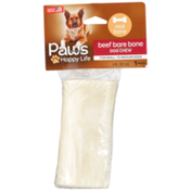 Paws Happy Life Beef Bare Bone Dog Chew For Small To Medium Dogs