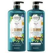 Herbal Essences Argan Oil Of Morocco Shampoo And