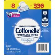 Cottonelle Flushable Wet Wipes Flip-Top Pack