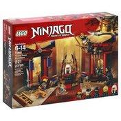 LEGO Building Toy, Ninjago, Master of Spinjitzu, Throne Room Showdown