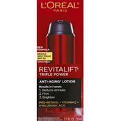 L'Oreal Sunscreen, Triple Power, Broad Spectrum SPF 30