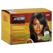 African Pride Relaxer System, Miracle Deep Conditioning, No-Lye, Regular