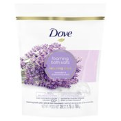 Dove Foaming Bath Salts Lavender And Chamomile