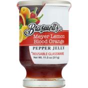 Braswell's Pepper Jelly Meyer Lemon Blood Orange, Jar