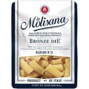 La Molisana Rigatoni N° 31 100% Durum Wheat Semolina Enriched Macaroni Product