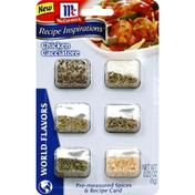 McCormick® Spices & Recipe Card, Pre-Measured, Chicken Cacciatore