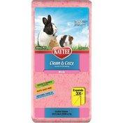 Kaytee Clean & Cozy Natural Small Pink Animal Bedding