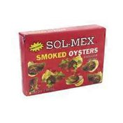 Sol-Mex Smoked Oysters