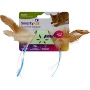 SmartyKat Cat Toy, Flutter Roller, Soft & Quiet